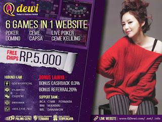 Tips Cara Menang Judi Ceme Keliling Online Server IDN Play QDewi.net