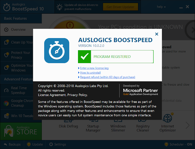 Auslogics BoostSpeed 10.0.7.0 Crack Serial Key License Code