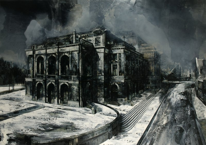 16-To-Remain-Unheard-Mark-Thompson-Austere-and-Desolate-Cityscapes-Paintings-www-designstack-co