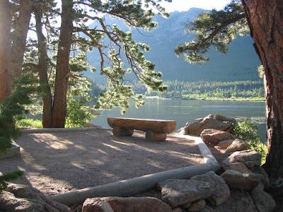 Lily Lake by  Baldpate Inn, Estes Park Colorado