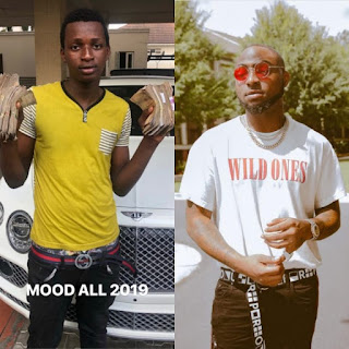 Davido and Boy he dashed N1m