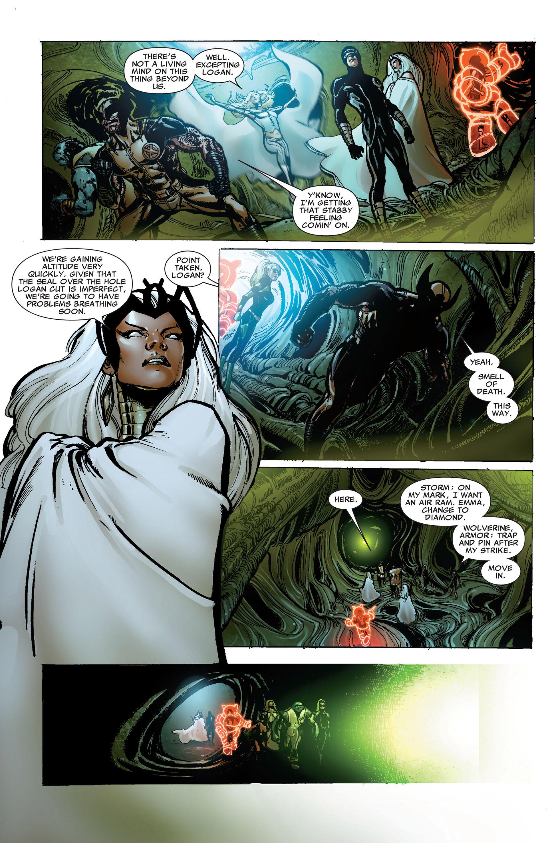 Read online Astonishing X-Men (2004) comic -  Issue #33 - 19