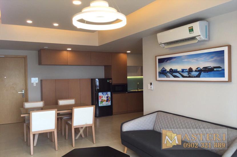 Cho thuê căn hộ 2 phòng ngủ Masteri