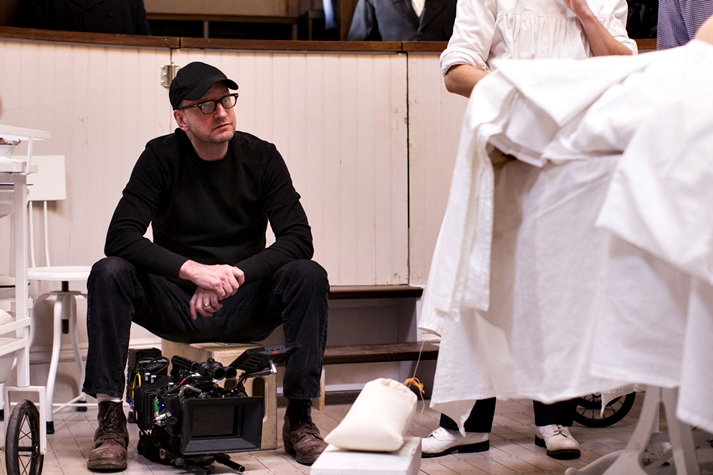 Steven Soderbergh por Method and Madness, de The Knick.