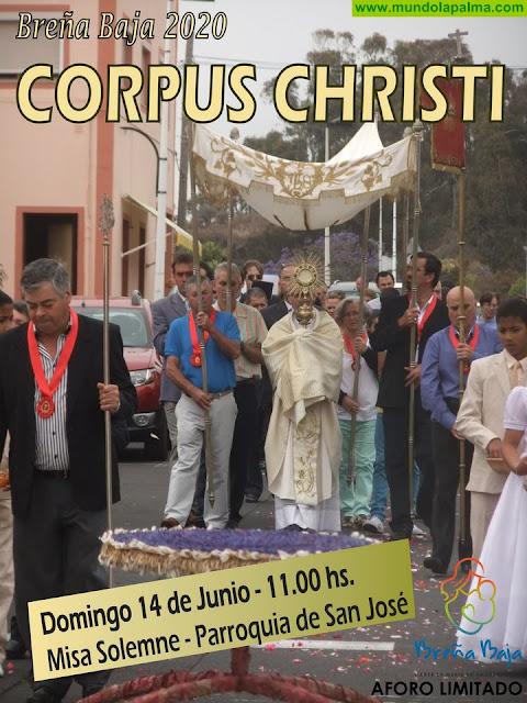 BREÑA BAJA: Festividad de Corpus Christi