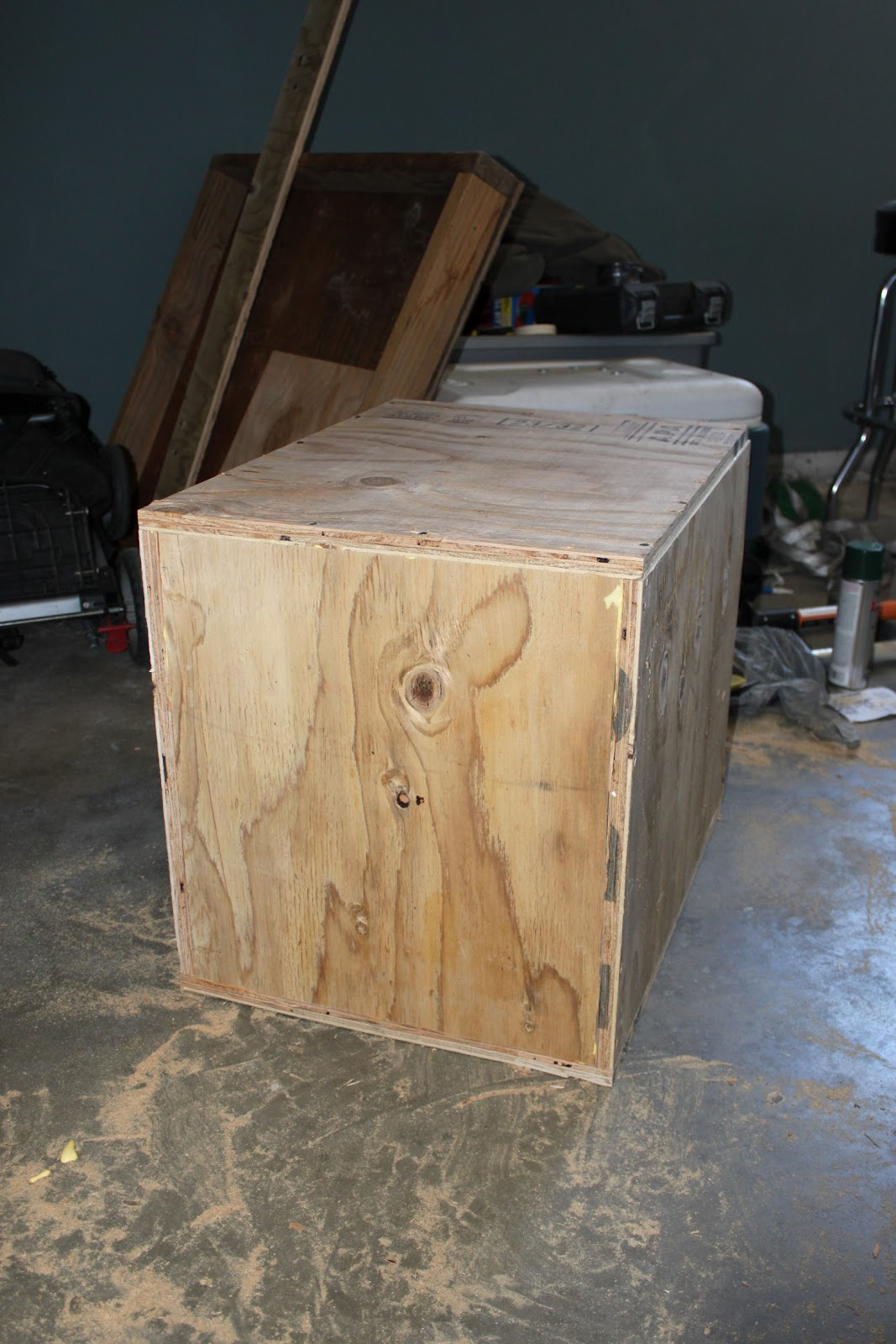 Broke Guy S Gym Diy 3 Sided Plyo Boxes
