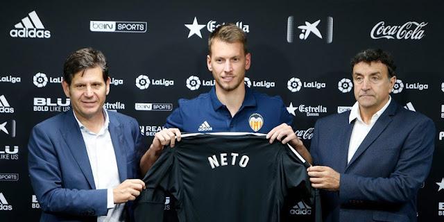 SBOBETASIA - Alasan Neto Tinggalkan Juventus dan Pilih Valencia