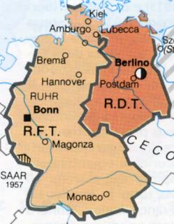 Cartina Germania Est E Ovest.La Seconda Penna Il Muro Di Berlino