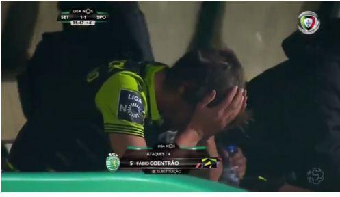 footballer-breaks-down-in-tears-after-being-substituted