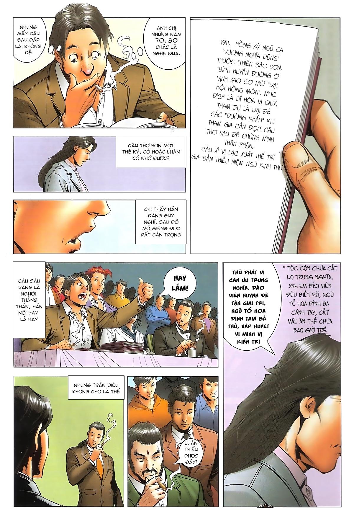 Người Trong Giang Hồ - Ngũ Hổ qui thiên - Chapter 1716: Đàm phán siêu cấp 2 - Pic 4