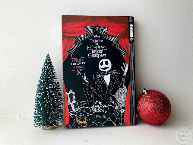 Manga Review of Tim Burton's The Nightmare Before Christmas by Jun Asuka
