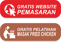 Paket Usaha Fried Chicken (Gratis Website & Pelatihan Masak)