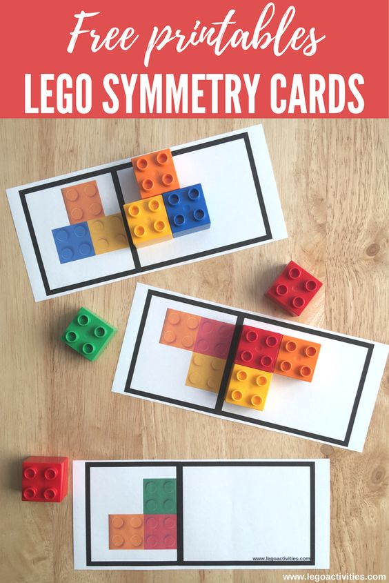 LEGO Symmetry Cards