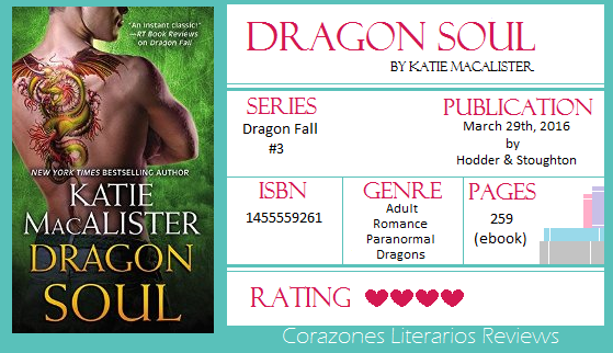 #BookReview: Dragon Soul by Katie MacAlister