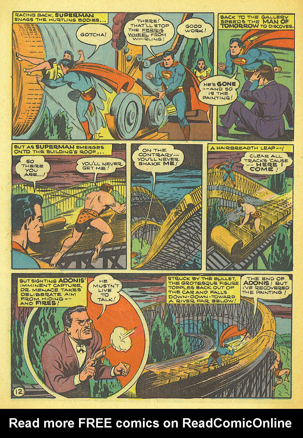 Read online Action Comics (1938) comic -  Issue #58 - 13