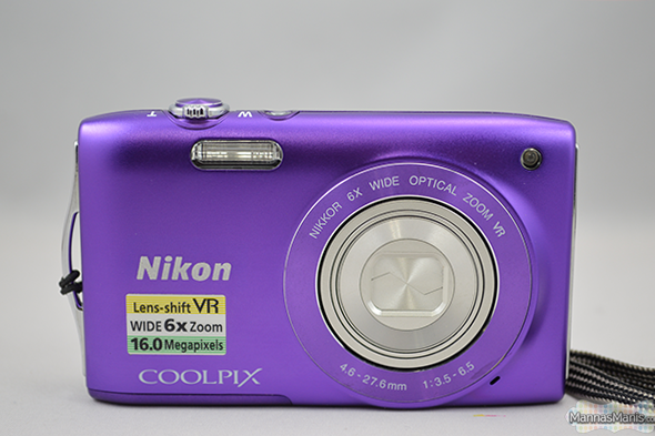 nikon S330 coolpix for bloggers