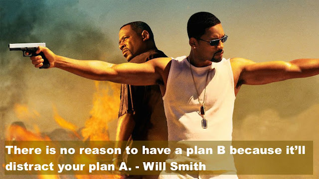 WIll Smith and Martin Lawrence. Bad Boys 2