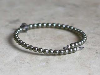 Pale Sage Green Bracelet