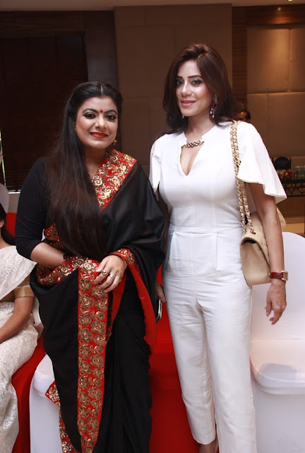 Artist Nupur Kundu and Dimple Fauzdar