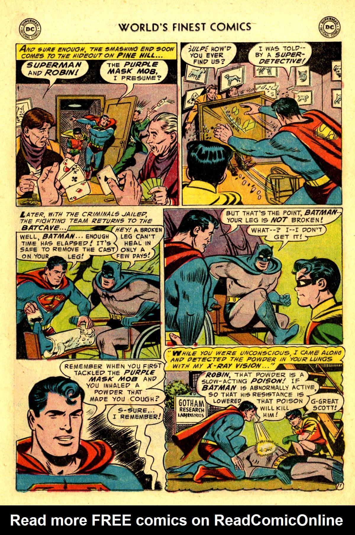 Read online World's Finest Comics comic -  Issue #75 - 13
