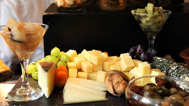 Cheese Board Buffet at Spectrum Fairmont Hotel Makati Manila PH