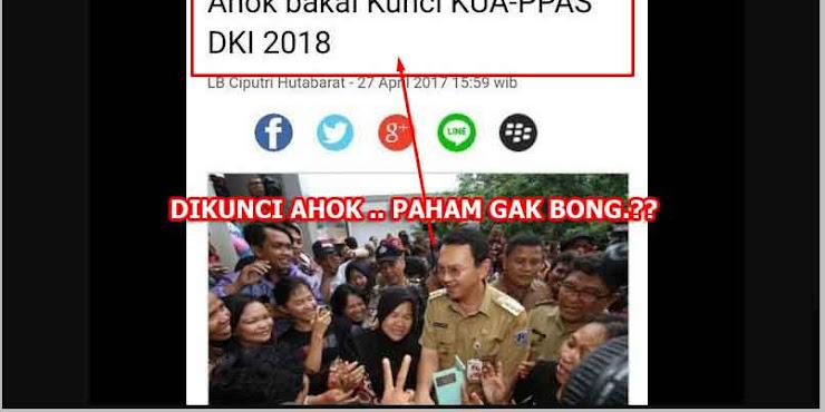 Nyinyir Soal APBD DKI 2018, Amnesia Massal Para 'Ahokers'