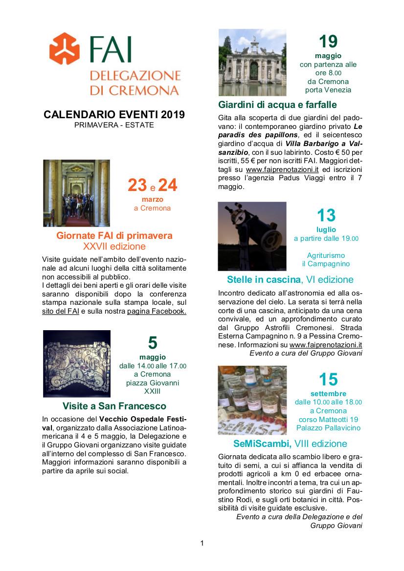 Calendario Cremonese.Salviamo Il Paesaggio Difendiamo I Territori