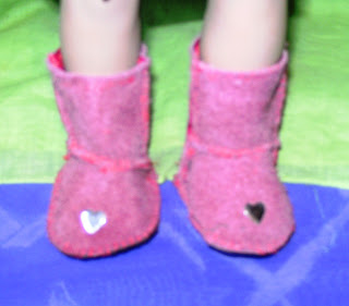 Doll's 'ugg' boots