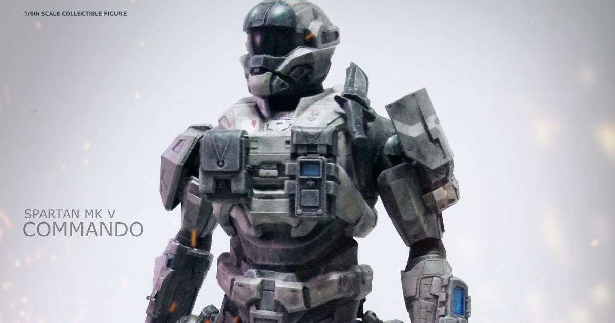 Psycho Ming: ThreeA Halo Reach Spartan Mark V Commando