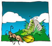 dongeng lucu hewan terbaru Semut dan Belalang