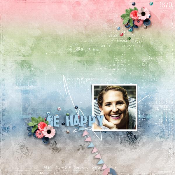 be happy © sylvia • sro 2018 • cherish this moments kit 1 pbp designer collab