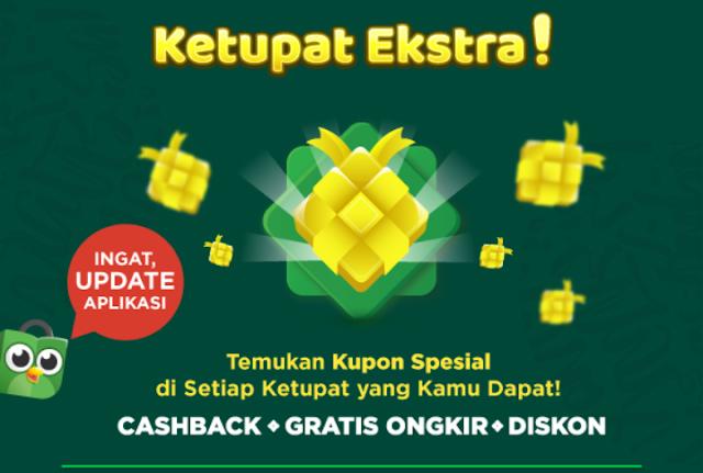 Kupon Promo Cashback Diskon Tokopedia