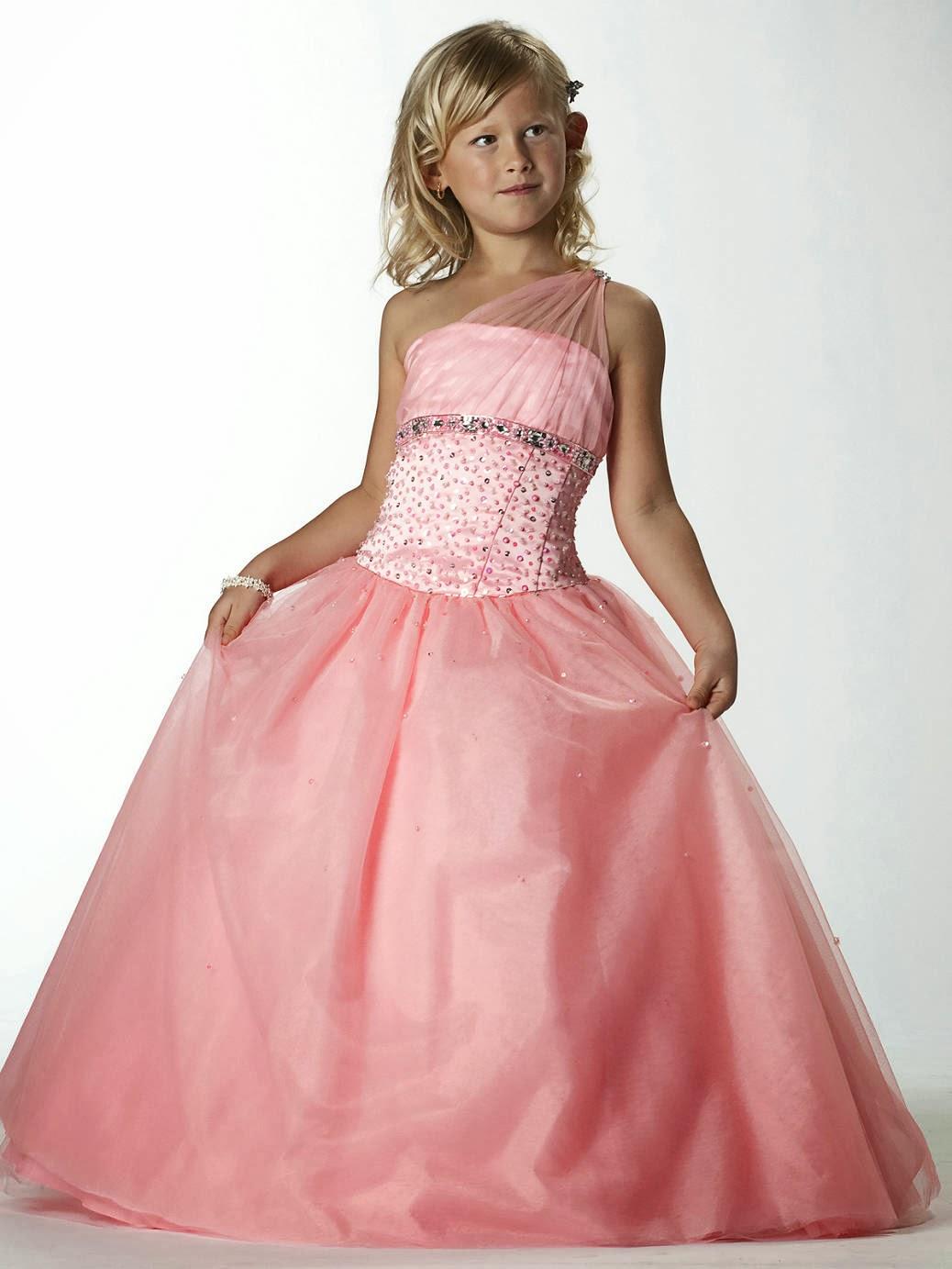 Excepcional La última De Vestidos De Fiesta Para Niñas Patrón ...