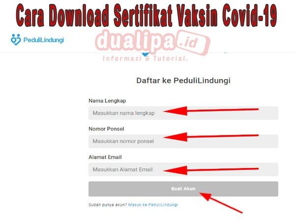 Cara Download Sertifikat Vaksin Covid-19