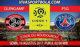 Prediksi Guingamp vs Paris Saint Germain 14 Agustus 2017
