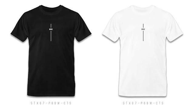 STX07-P6BW-CTS Text T Shirt Design, Custom T Shirt Printing