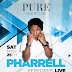 Pharrell at PURE Nightclub May 25
