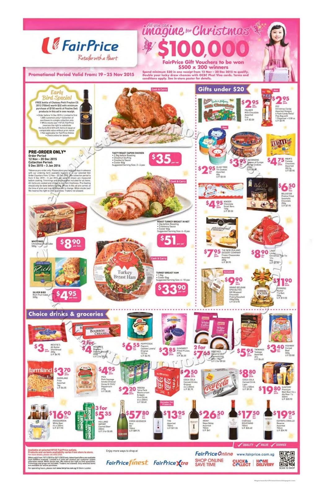 Fairprice Christmas Catalogue 2021 Ntuc Fairprice Christmas Catalogue 19 25 November 2015 Supermarket Promotions