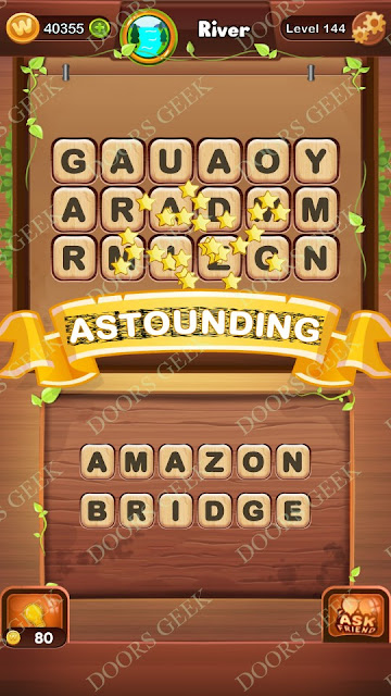 Word Bright Level 144 Answers, Cheats, Solutions, Walkthrough for android, iphone, ipad and ipod