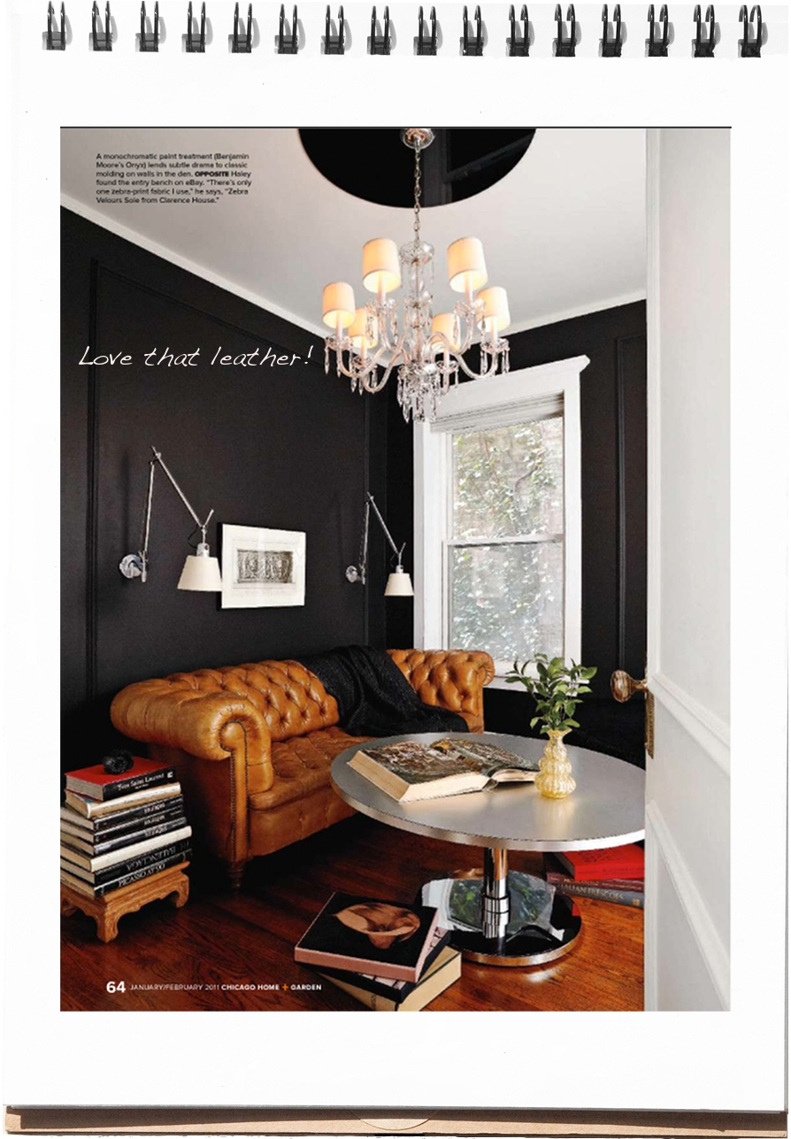 Excellent Interiors Black Paint Leather Couch Fuji Files Bralicious Painted Fabric Chair Ideas Braliciousco