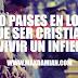 10 paises en los que ser cristiano es vivir un infierno