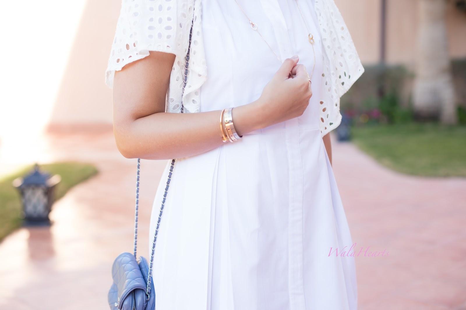85faba526 OOTD: An Asli Filinta White Dress | WalaHearts | Bloglovin'