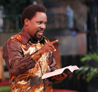 News: Prophet T. B Joshua makes shocking revelations about himself