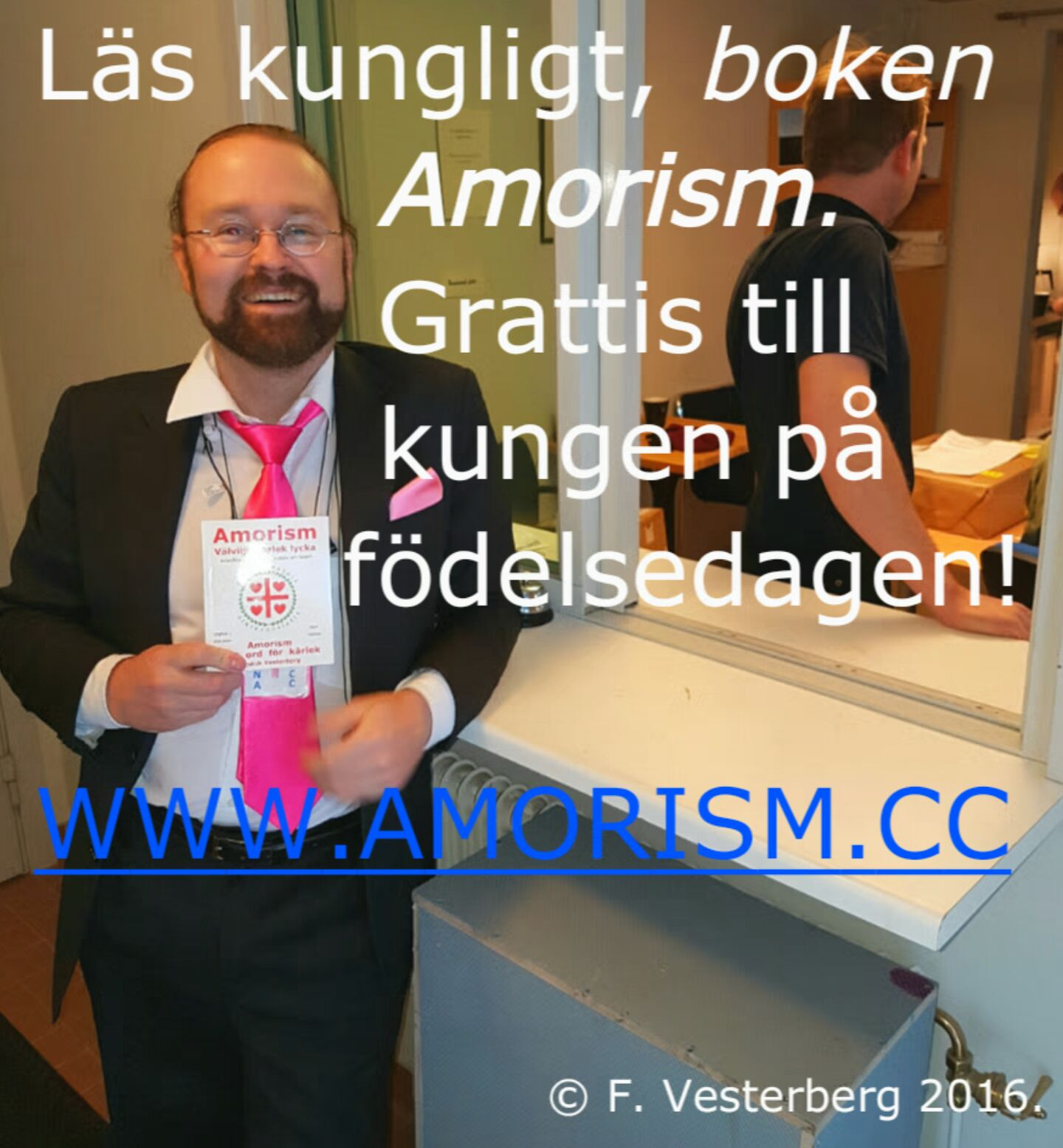 Image on Amorism to the king of Sweden