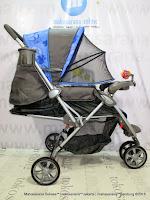 tidur Kereta Dorong Bayi BabyDoes CH278 Parade-X Roda 3 Hadap Depan atau Belakang