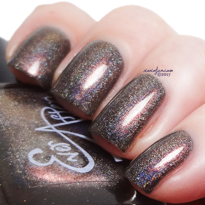 xoxoJen's swatch of Ever After Sultan vile betrayer