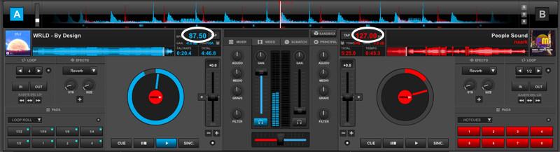 ¿cómo mezclar en Virtual DJ?