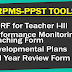 RPMS Tools for Teacher I - Teacher III