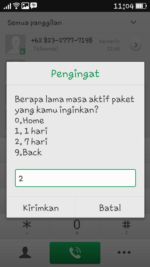 Cara Daftar Paket Murah SMS NELPON INTERNET Kartu Simpati ...