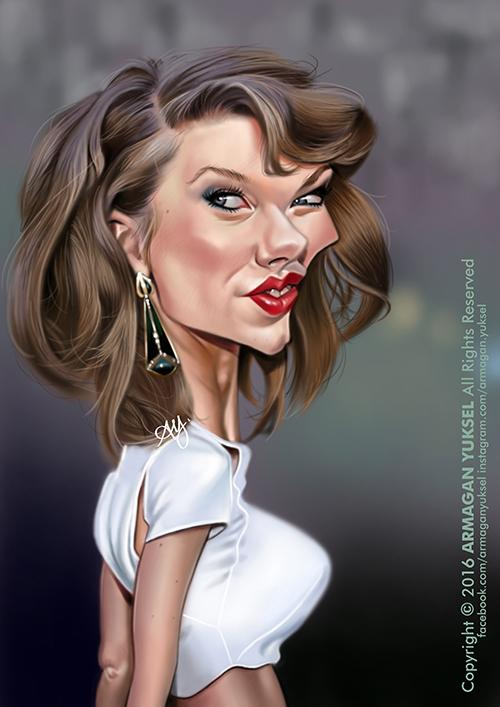 Taylor Swift 2 por Armagan Yuksel